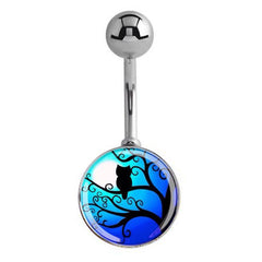 The Night Owls Belly Ring