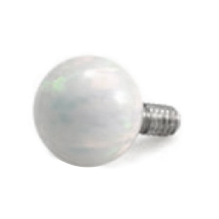 Cultured Pearl Internally Threaded 14g Belly Ring Replacement Ball - Replacement Ball. Navel Rings Australia.