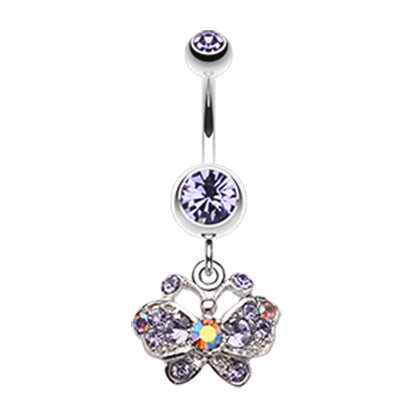 Tanzanite Sweet n' Petite Butterfly Dangle