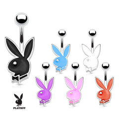 16G Official Playboy Bunny Belly Rings