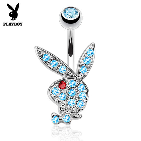 Aquamarine Official ©Playboy Classics Belly Rings