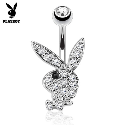 Black Official ©Playboy Classics Belly Rings