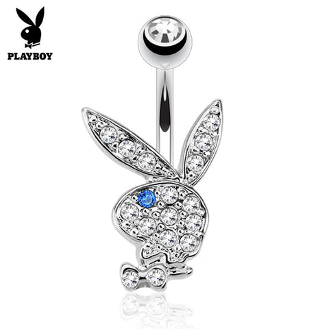 Indigo Blue Official ©Playboy Classics Belly Rings