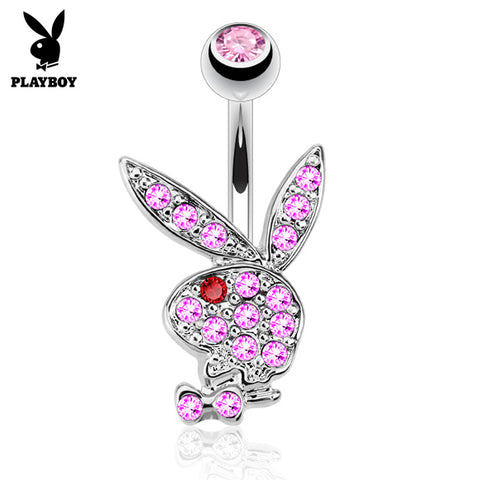 Pink Official ©Playboy Classics Belly Rings