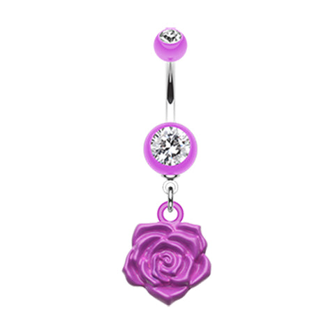 Amethyst The Immortal Rose Belly Bar