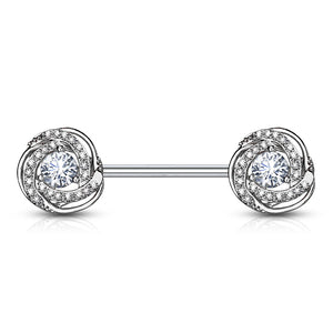 La Fusión Nipple Jewellery - Nipple Ring. Navel Rings Australia.