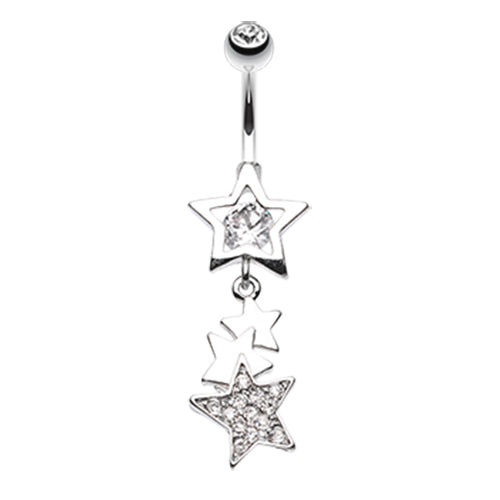 Dangling Belly Ring. Buy Belly Rings. The Super Star Belly Button Ring