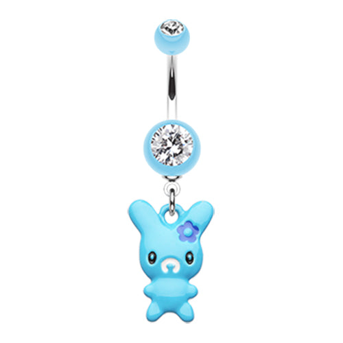 Dangling Belly Ring. Belly Rings Australia. Lola Bunny Belly Ring