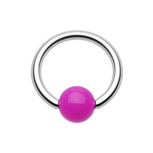 Funky Acrylic Captive Belly Rings - Captive Belly Ring. Navel Rings Australia.