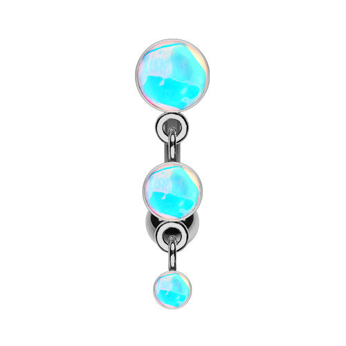 Urban Rapture Reverse Belly Ring - Reverse Top Down Belly Ring. Navel Rings Australia.