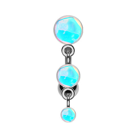 Reverse Top Down Belly Ring. Cute Belly Rings. Urban Rapture Reverse Belly Ring