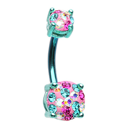 Aquamarine Motleys™ Unicorn Parade Belly Bar
