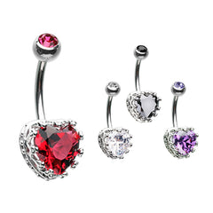 Vintage élaborer Heart Belly Bar