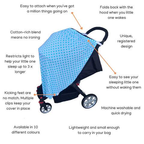 The Child Privacy Cover is packed with amazing features