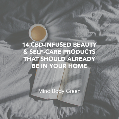 14 CBD-Infused Beauty & Self-Care Products