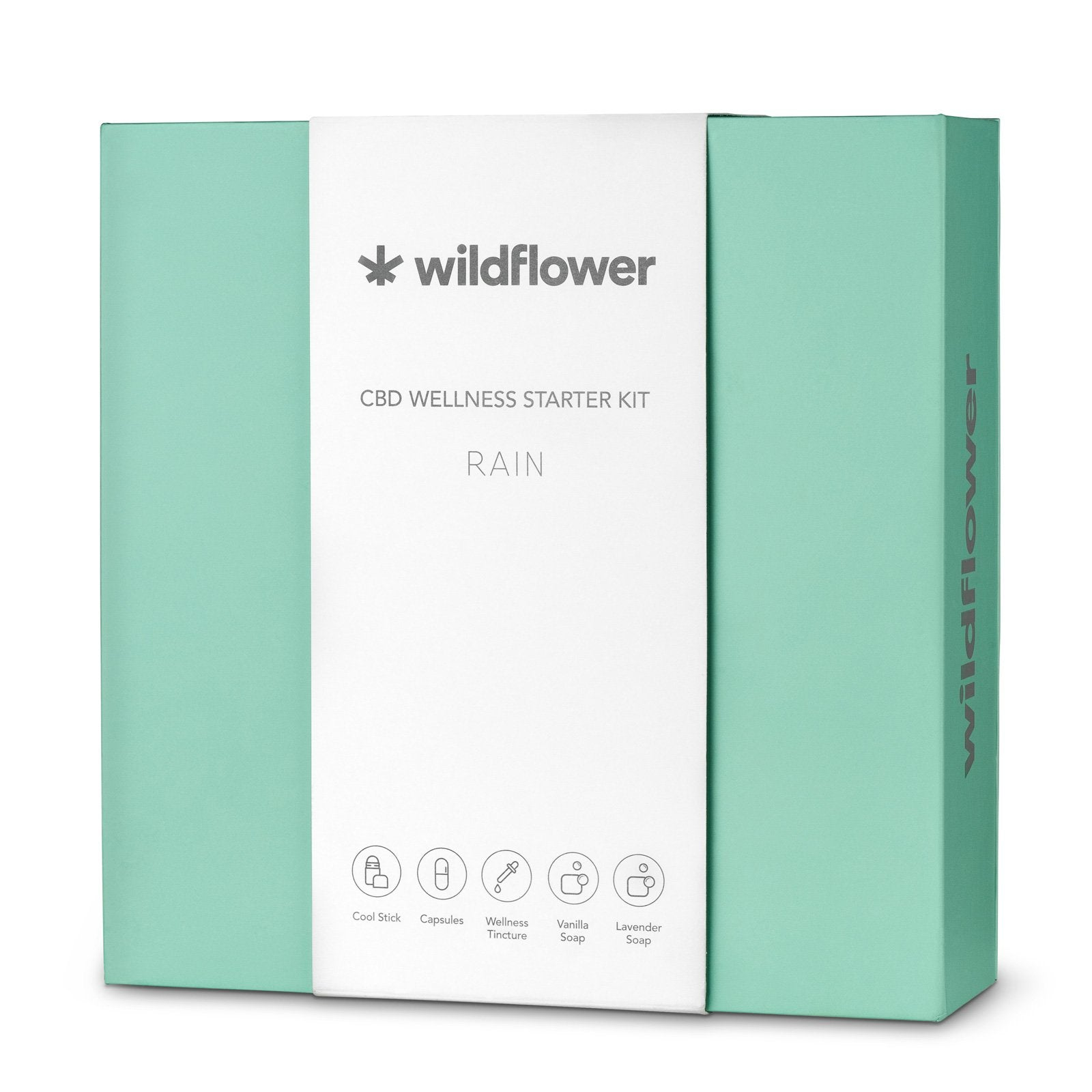 Rain CBD Starter Kit | Wildflower Wellness