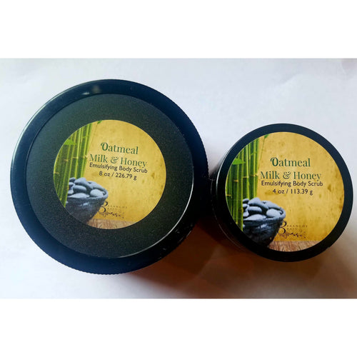Oatmeal, Milk and Honey Body Scrub - Branche Basu Boutique