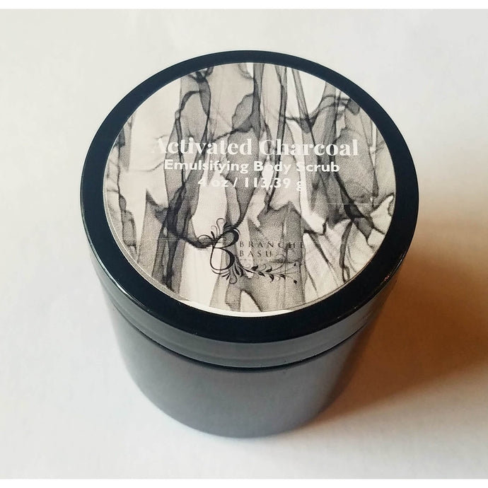 Activated Charcoal Body Scrub - Branche Basu Boutique