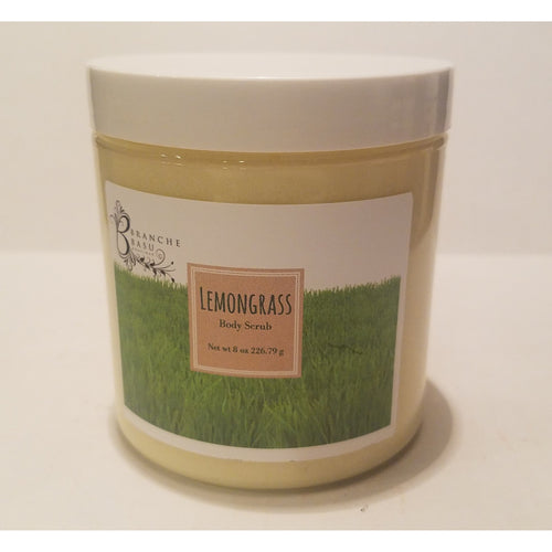 Lemongrass Body Scrub - Branche Basu Boutique
