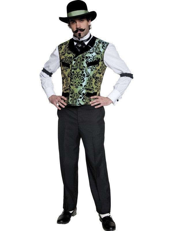 Authentic Western Gambler Costume  sc 1 st  Stark Avenue & Authentic Western Gambler Costume | Stark Avenue