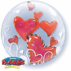 Floating Hearts Balloon