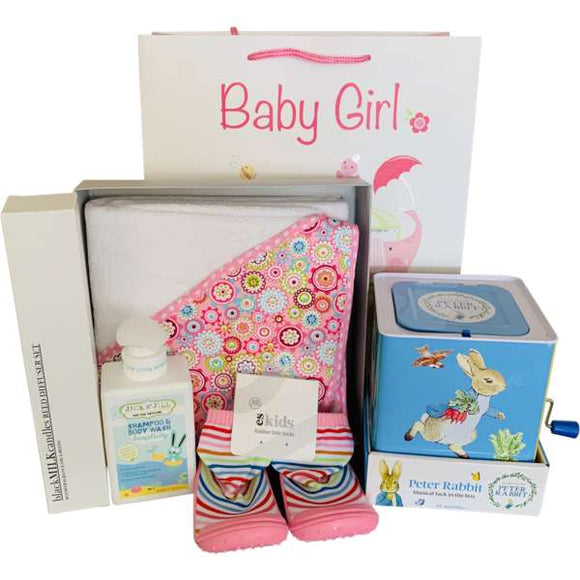 Baby Girl Gift Hamper - Gifts2remember