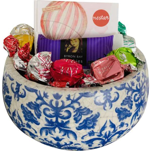 Damask bowl Gift Hamper - Gifts2remember