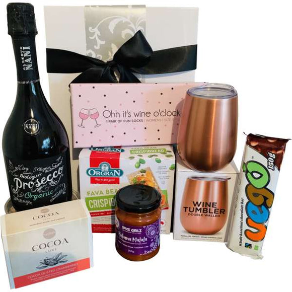 Ladies Organic Prosecco Gift Hamper