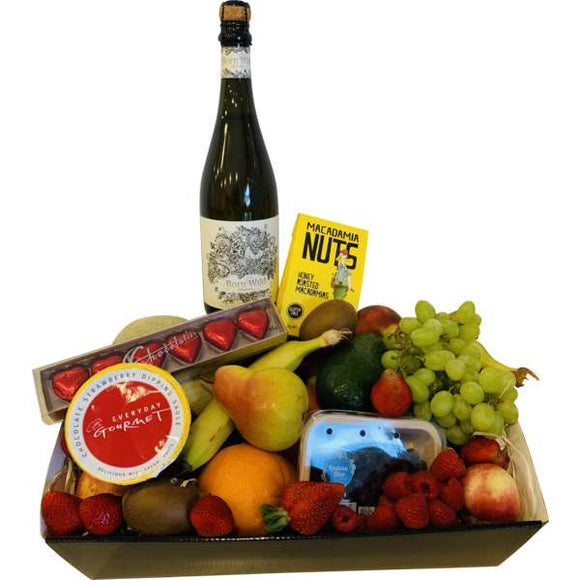 Organic Brut and Fruit Hamper