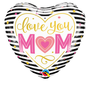 Heart Shaped love You Mum - Gifts2remember