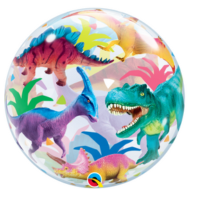 Bubble Colourful Dinosaurs