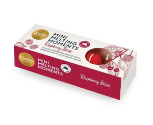 Charlie's Raspberry Mini Melting Moments