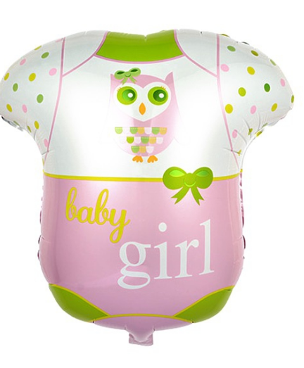 Baby Girl Romper Balloon