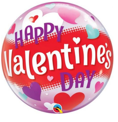 Happy Valentine's Day Heart Balloon - Gifts2remember