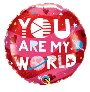 You Are My World Balloon - Gifts2remember