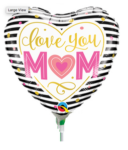 Love You Mum Balloon - Gifts2remember