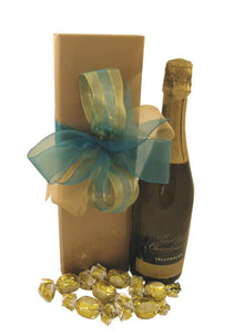 Bubbly And Chocolate Gift Box