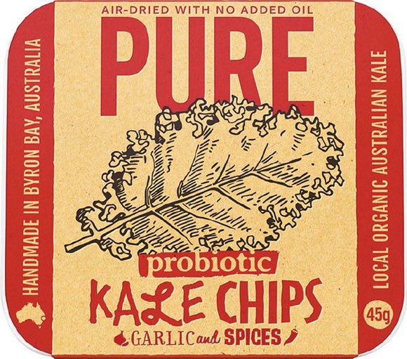 Pure Kale Chips