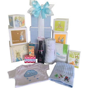 Mum and Baby Boy Gift Hamper - Gifts2remember