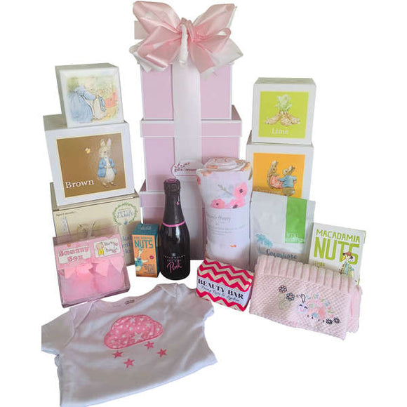 Mum and Baby Girl Gift Hamper - Gifts2remember