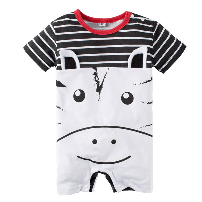 Baby Graphic Print Short Sleeve