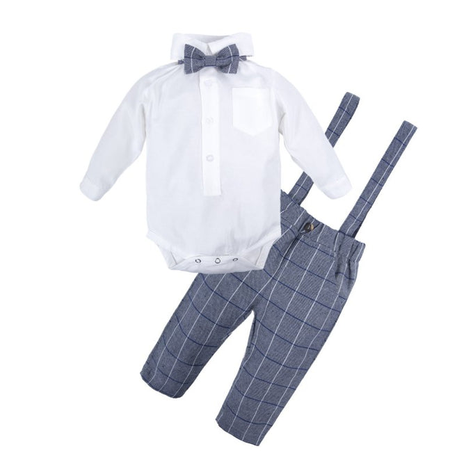 Baby Boys Gentle Shirt and Pants Set Q21