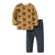 Baby Boys' 2 Piece Graphic Long Sleeve Tops Pants Clothing Set