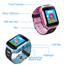 Touch Screen Smart Kids GPS Watch with Camera