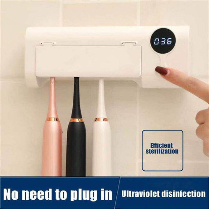 UV Toothbrush Sanitizer Ultraviolet Light Sterilizer‎