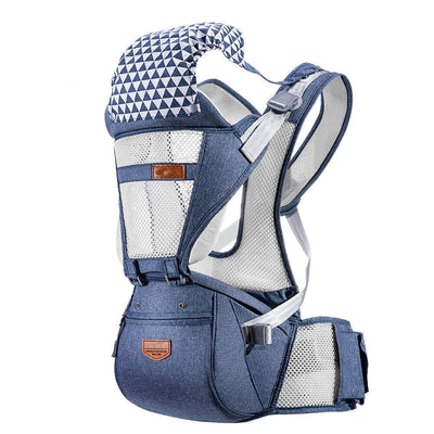 Ergonomic Hipseat Baby Carrier Sling--Easy to Travel with Your Baby
