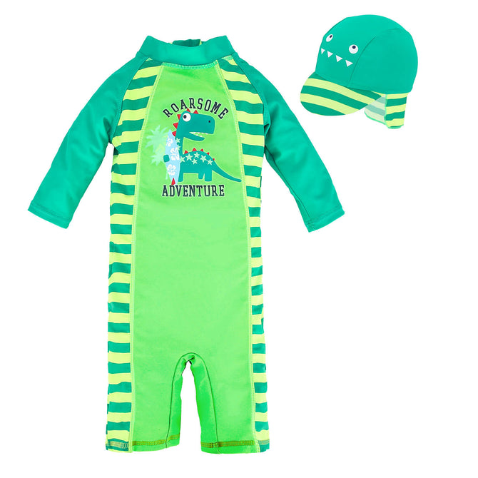 Kids Baby Boys Anti UV All-in-One Sun Protection Q72