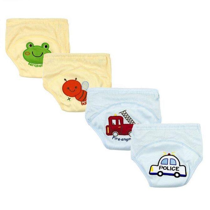 baby boys 4 pack nappies
