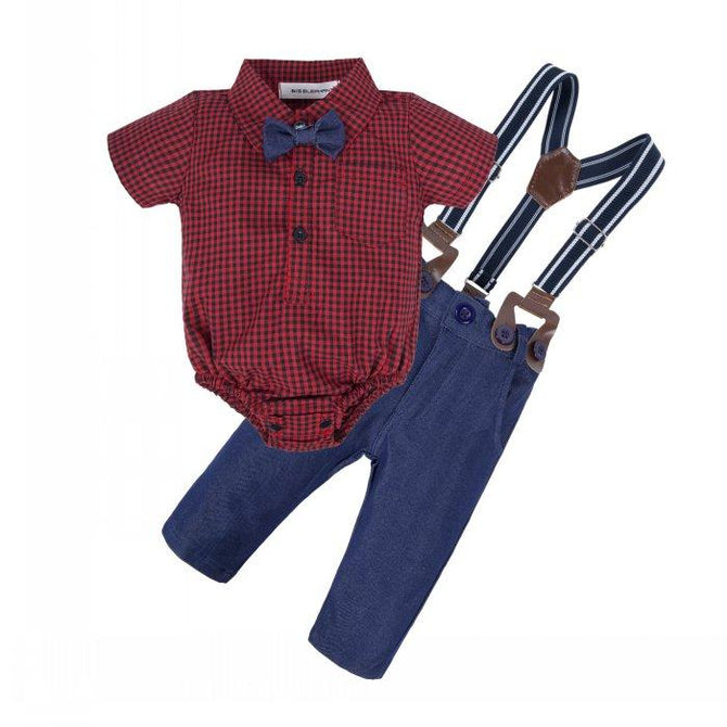 Baby Fashion Short Shirt Set