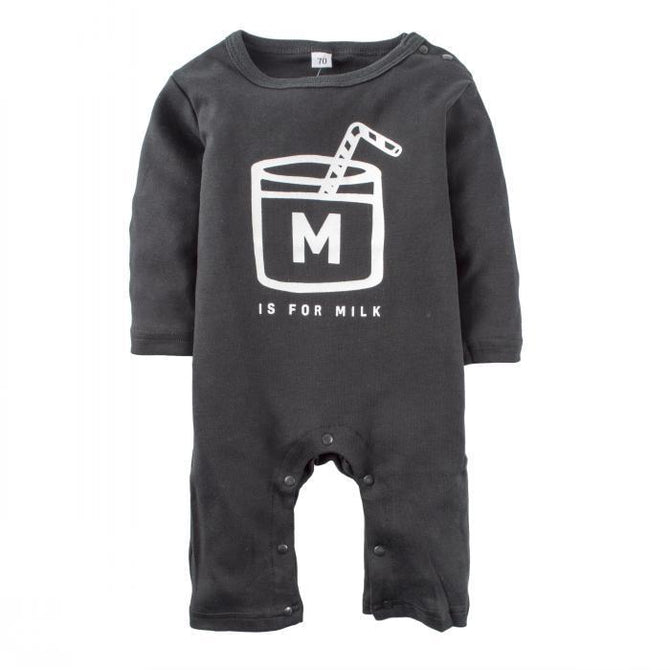 Baby Boys' One Piece Graphic Long Sleeve Pajama Romper Sleeper